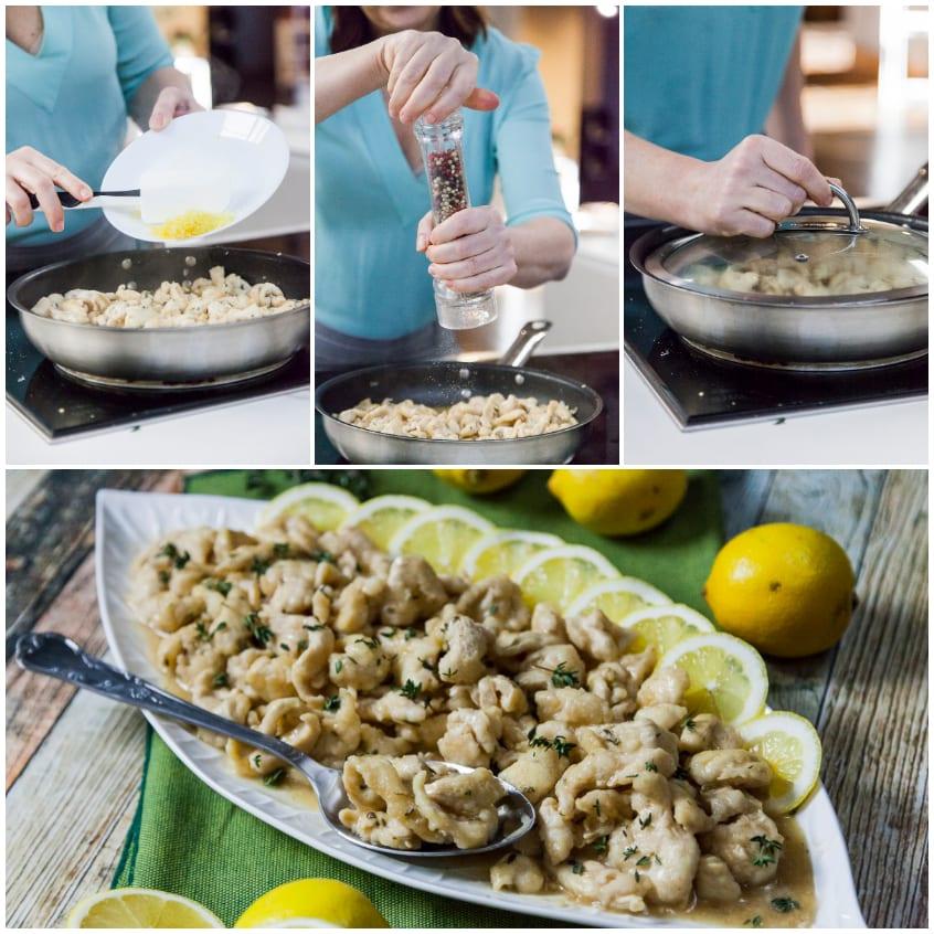 Pollo al limone ricetta