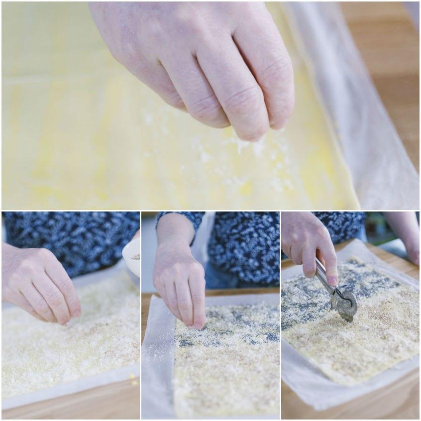 grissini sfoglia ricetta facile