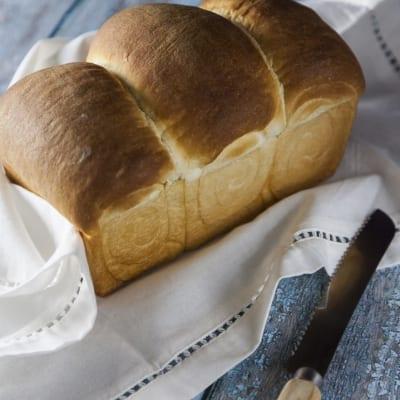 Pane al latte con metodo giapponese