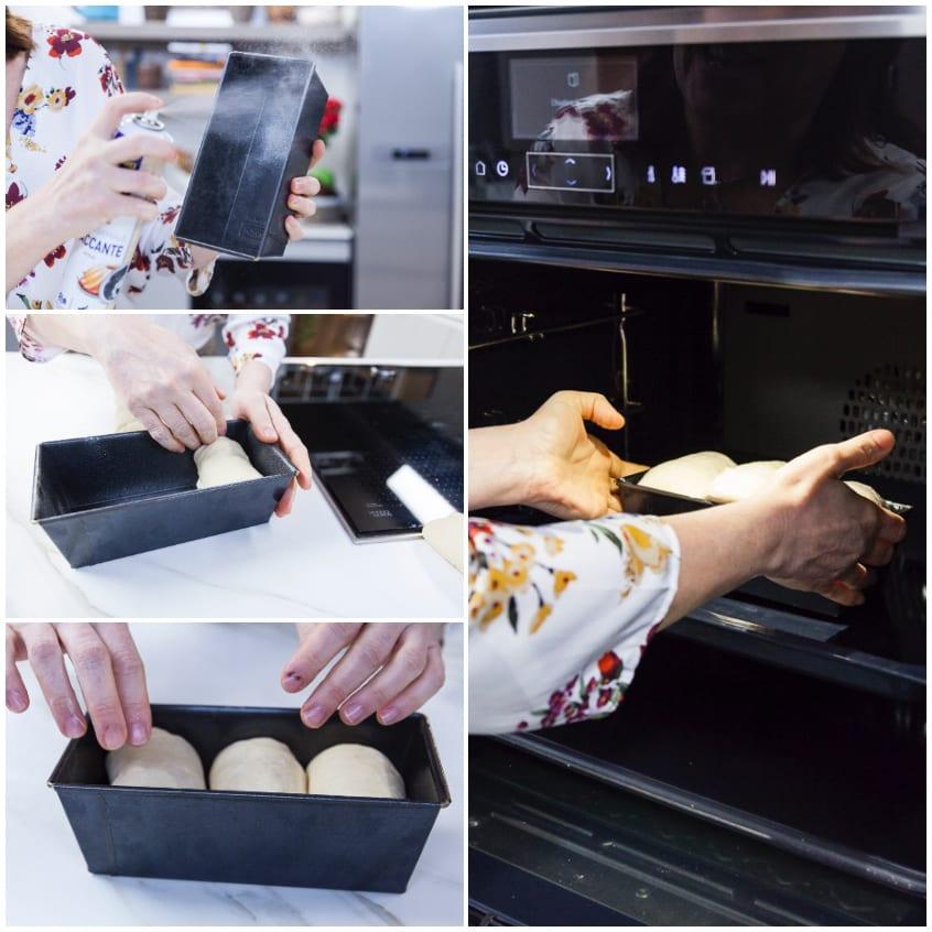 Pane al forno giapponese semplice