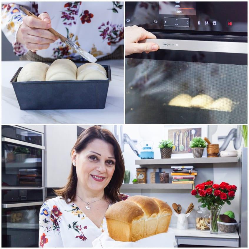 Pane facile al forno