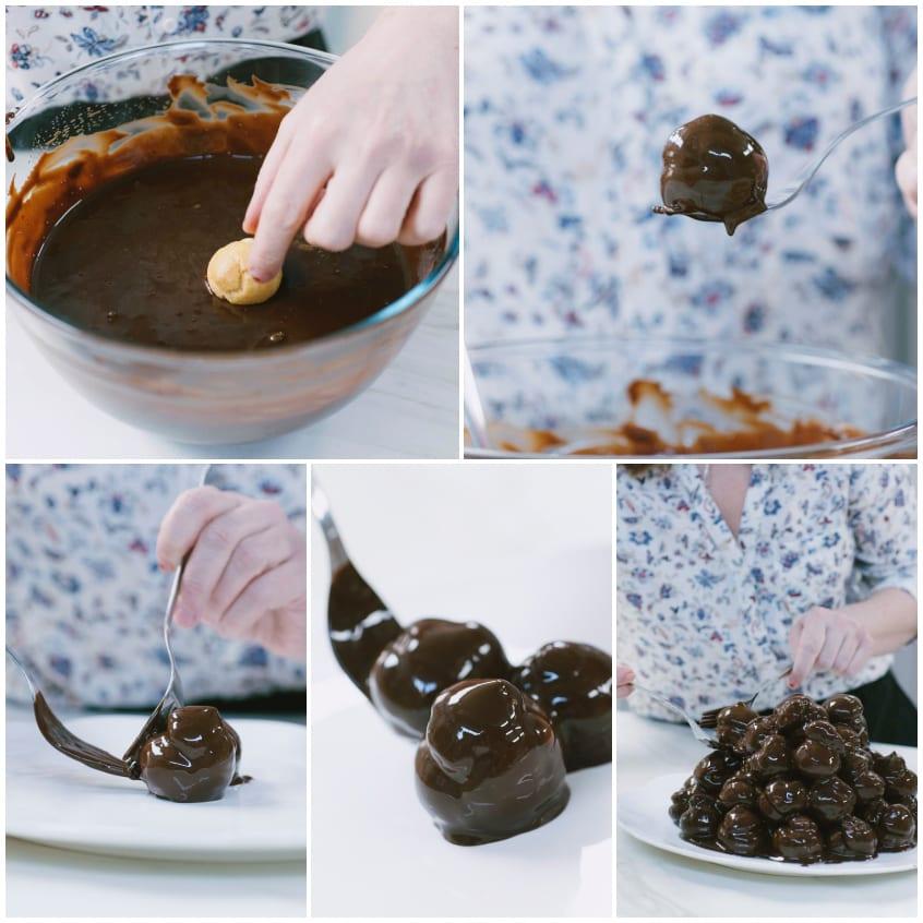 Profiteroll cioccolato