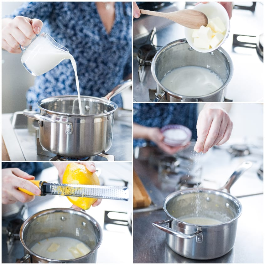 torta al latte facile