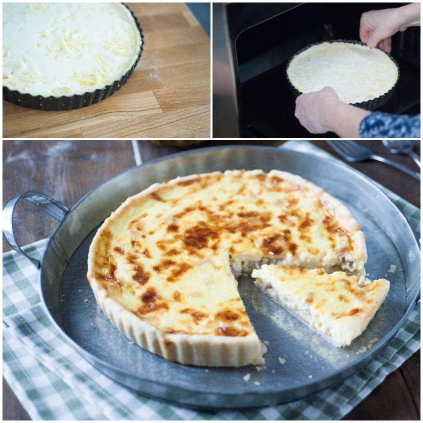 torta salata francese formaggi