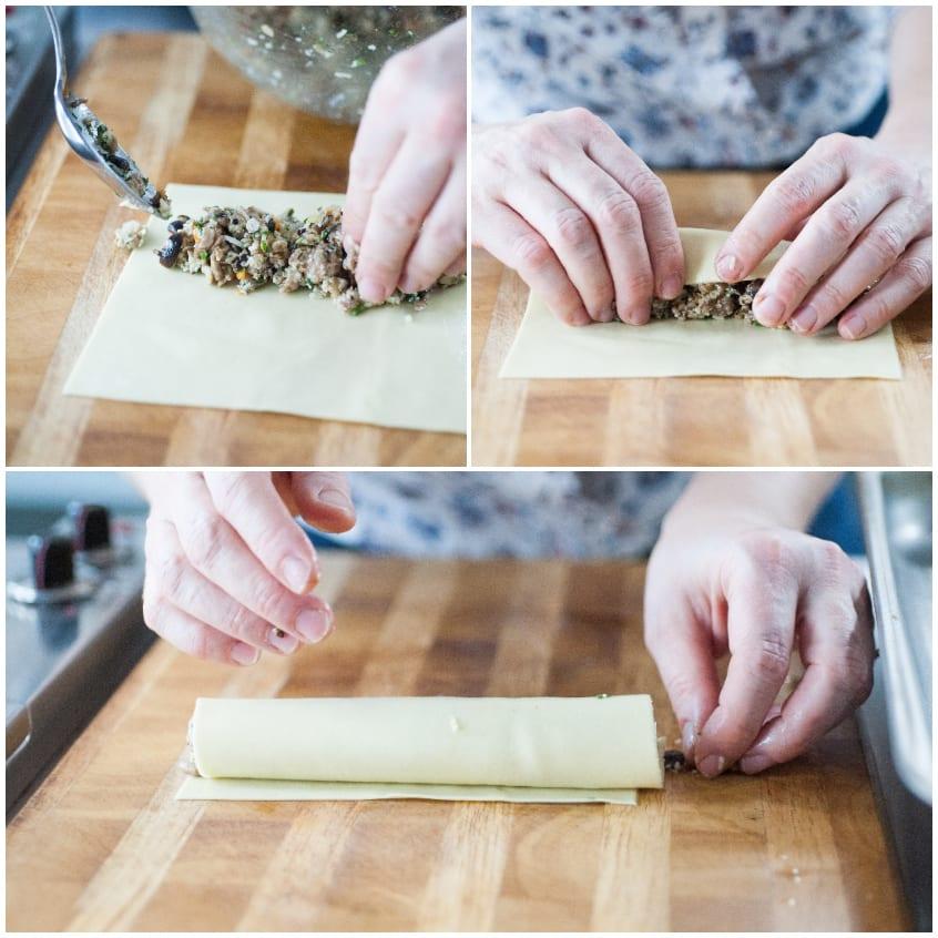 pasta fresca salsiccia e funghi