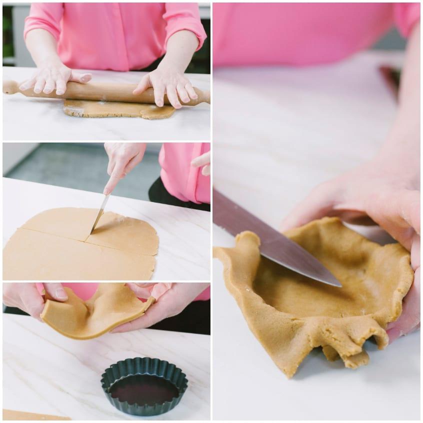 crostatine crema zafferano