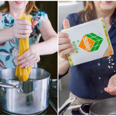 Come cuocere la pasta perfetta