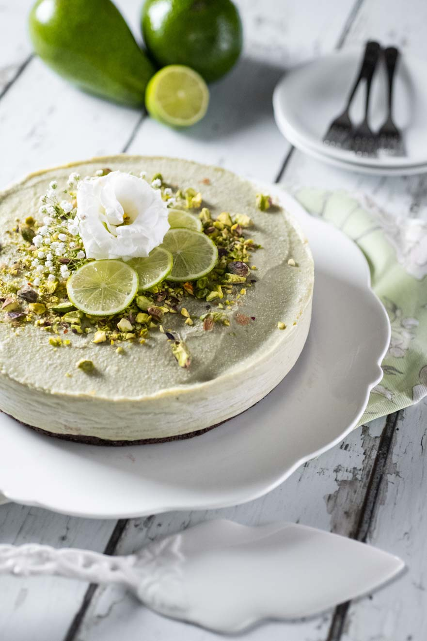 Cheesecake di avocado