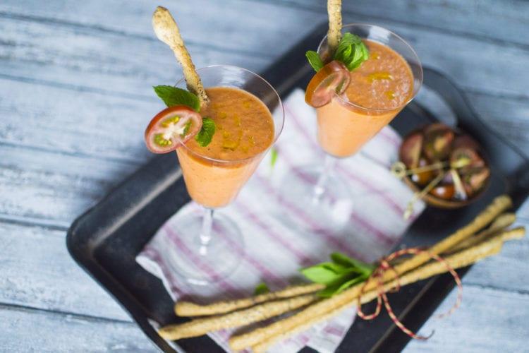 Gazpacho di pomodoro camone