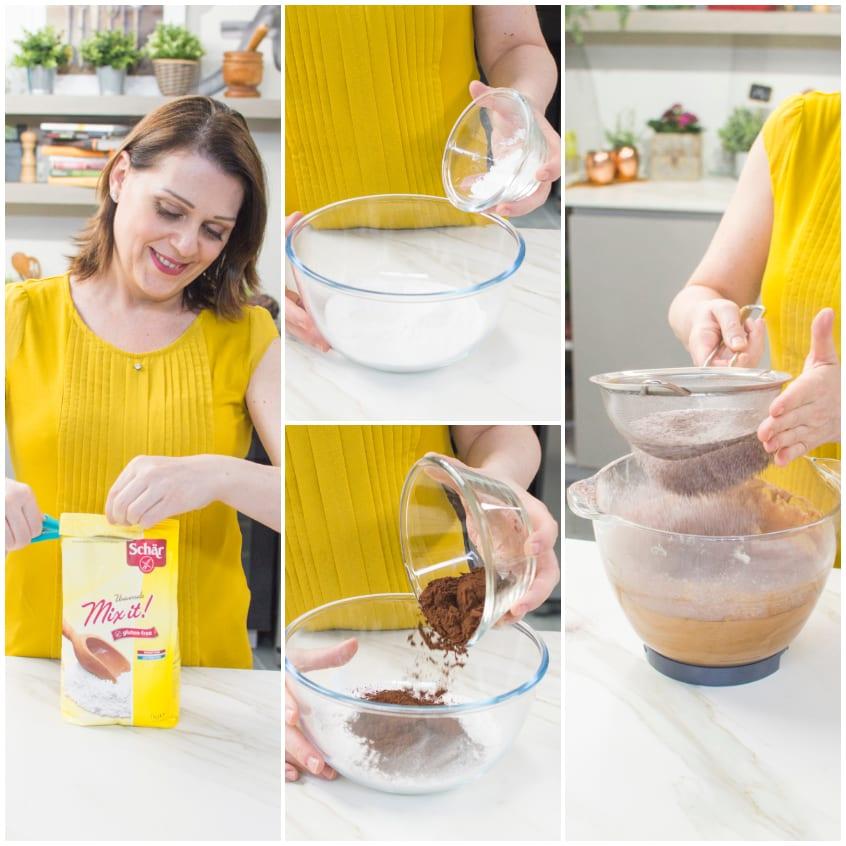 Torta cioccolato e ciliegie senza glutine