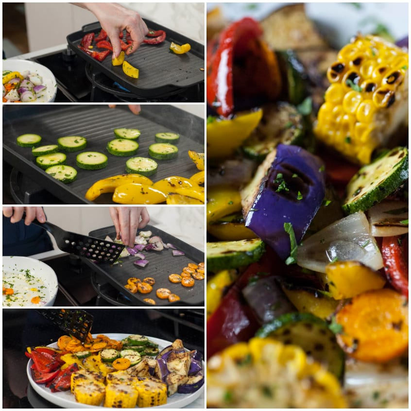 verdure miste alla griglia