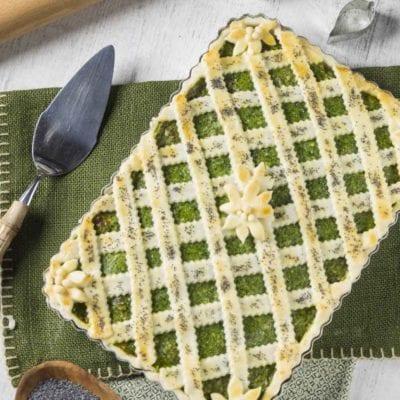 Crostata salata senza glutine con ricotta e spinaci