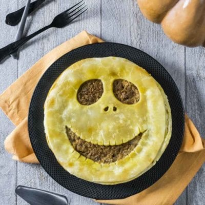 Pie salata senza glutine di Halloween