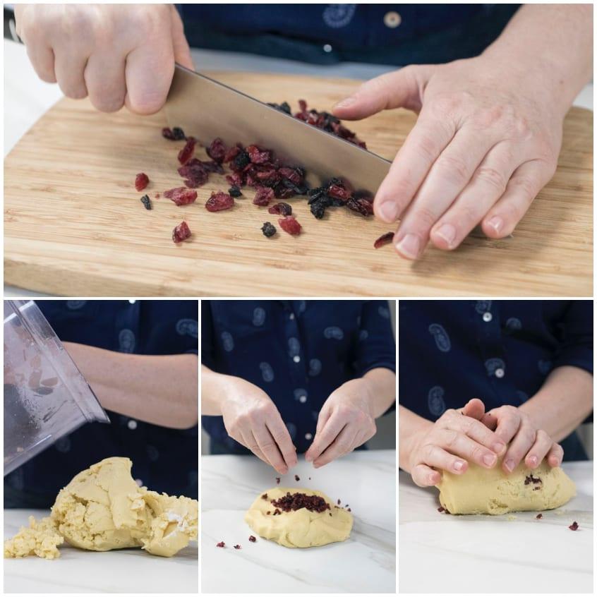 biscotti ai frutti rossi fare