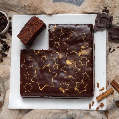 Torta fondente speziata