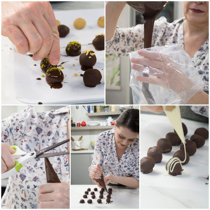 cioccolatini ricetta
