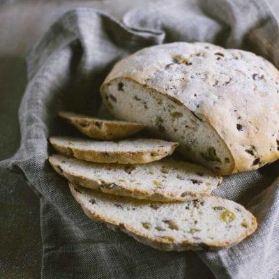 Pagnotta alle olive senza glutine