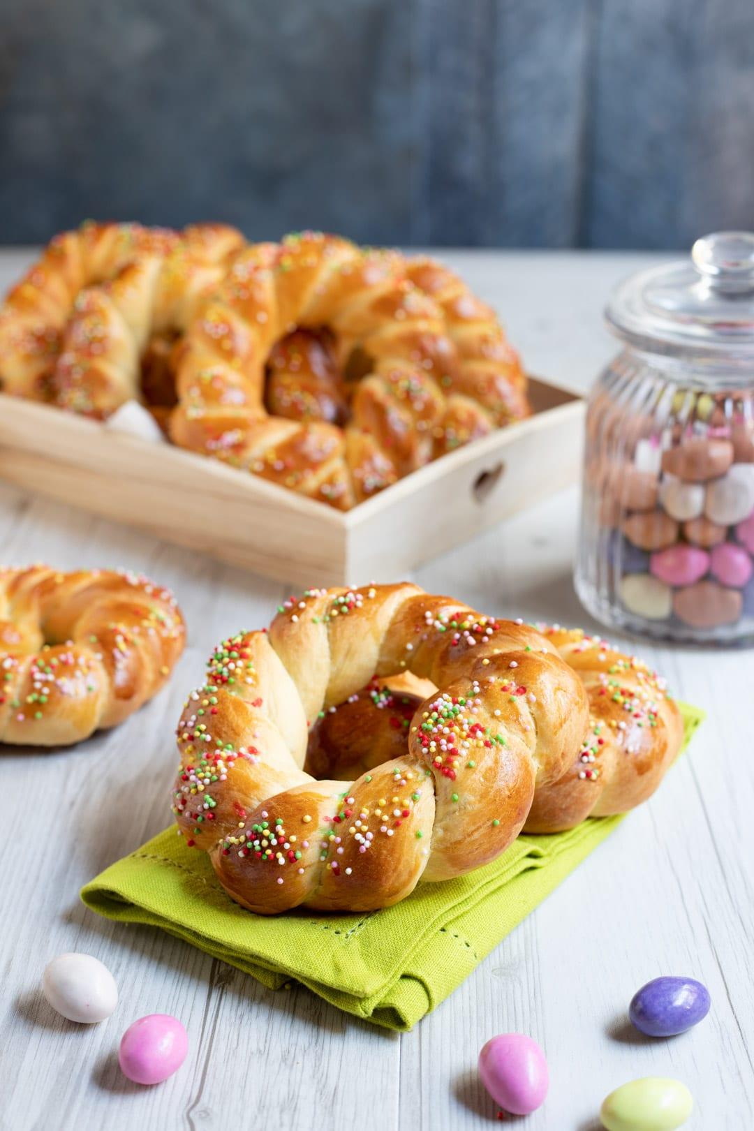 Brioche di Pasqua pronte per le feste