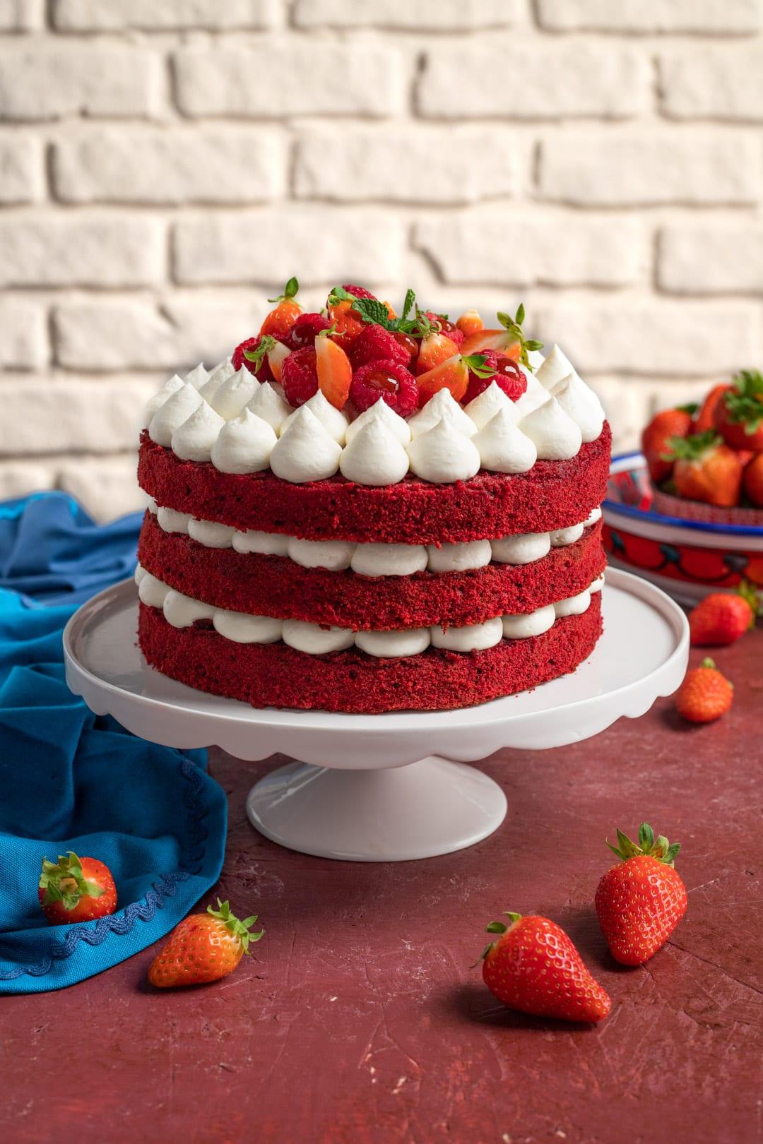 Torta red velvet ricetta