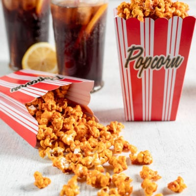 Pop corn al caramello salato