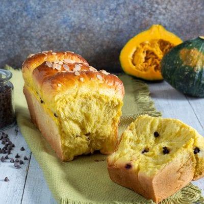 Pan brioche di zucca
