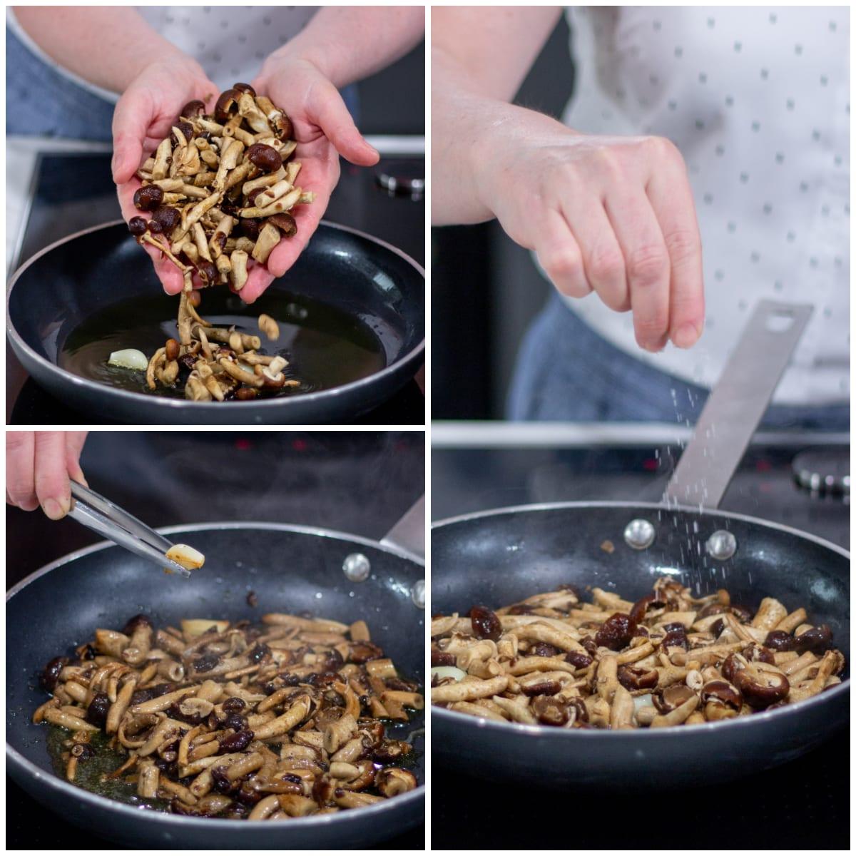 risotto funghi pioppini