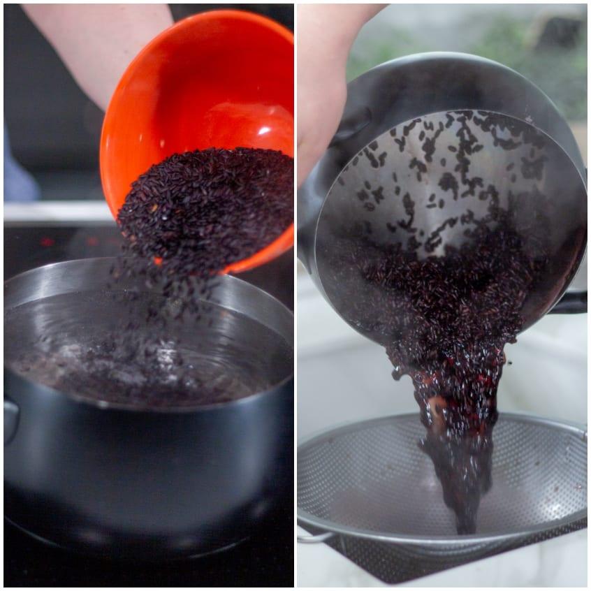 corone di riso nero