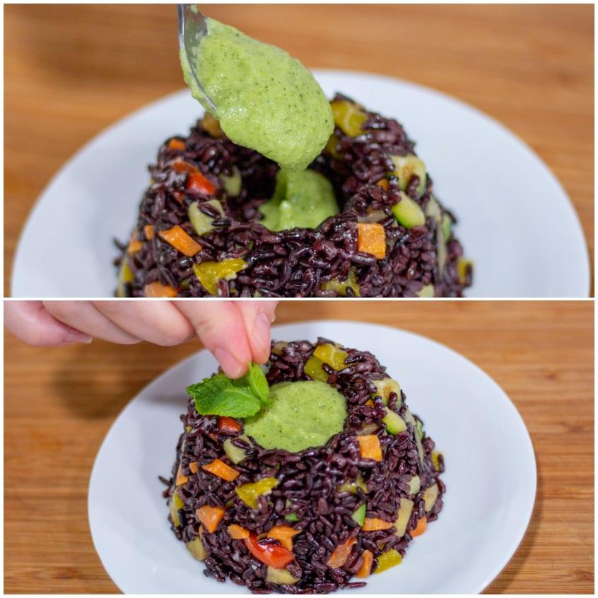 riso venere alle vedrure colorate