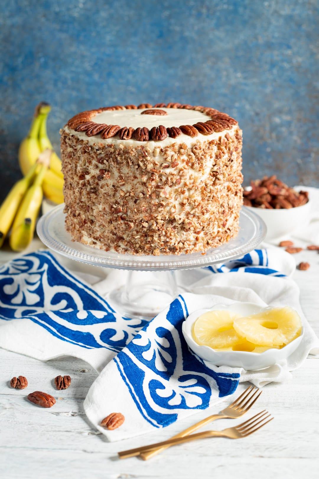 Hummingbird cake pronta da gustare