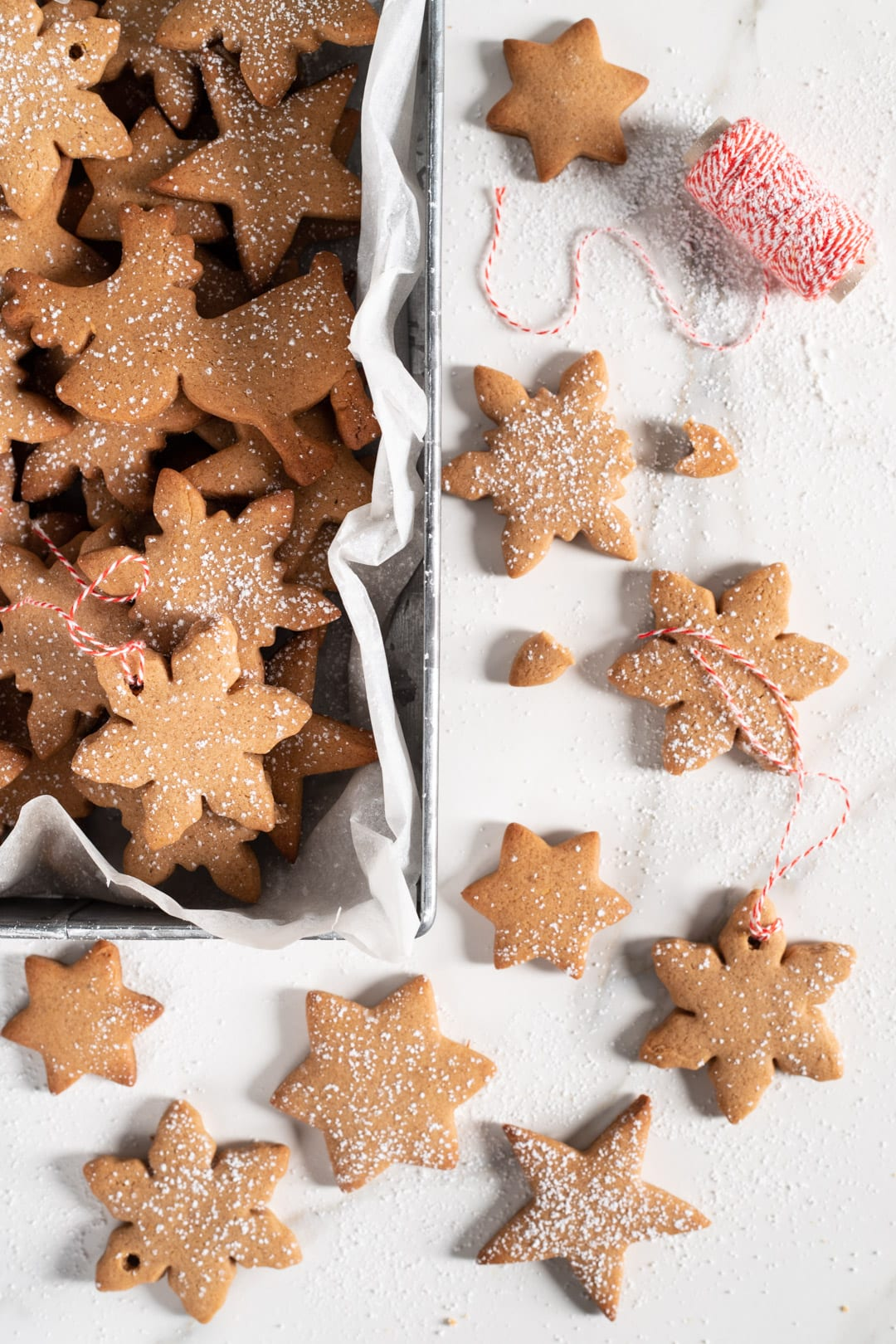 Biscotti svedesi pepparkakor pronti da gustare