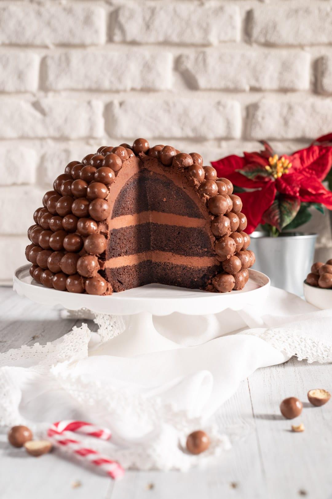 Torta Maltesers strati interni