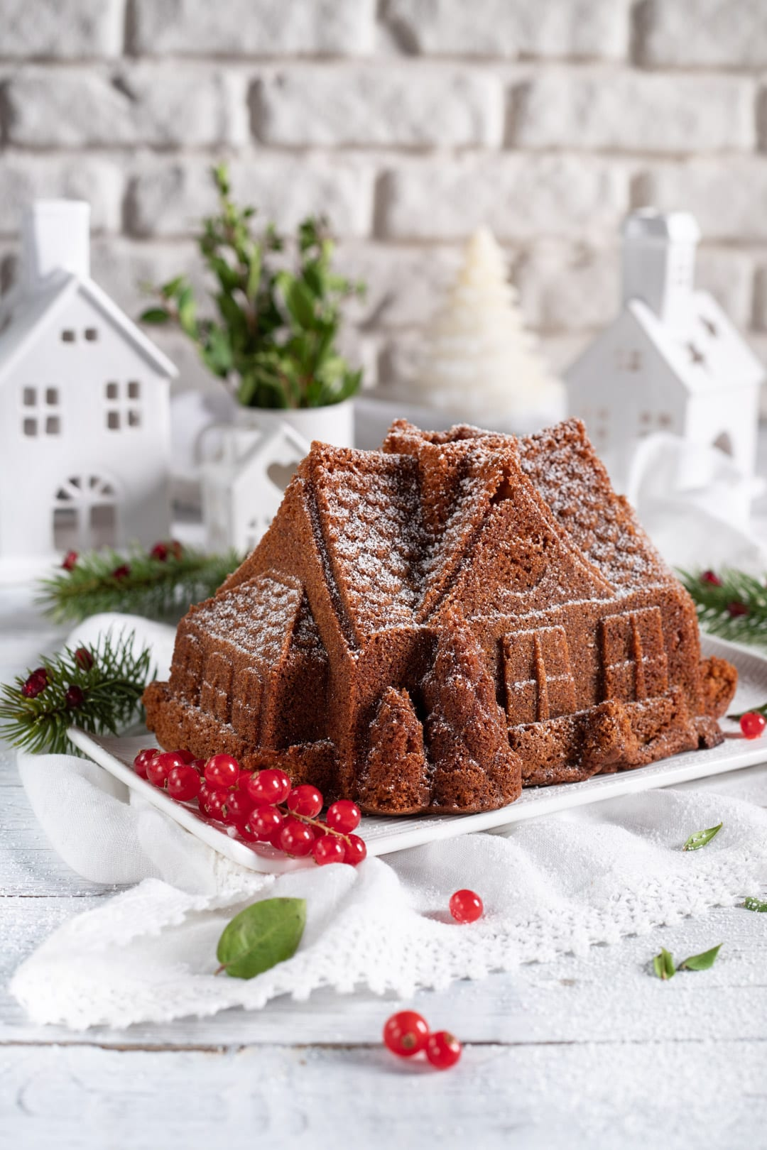 Torta di Natale morbida e profumata