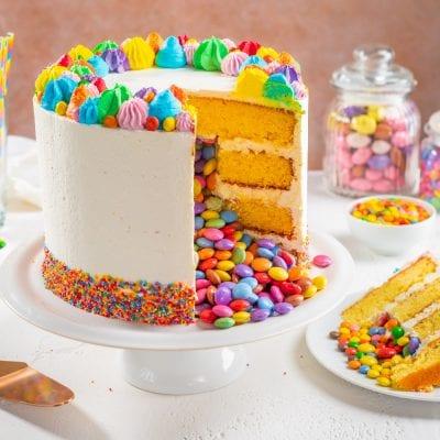 Torta sorpresa di compleanno