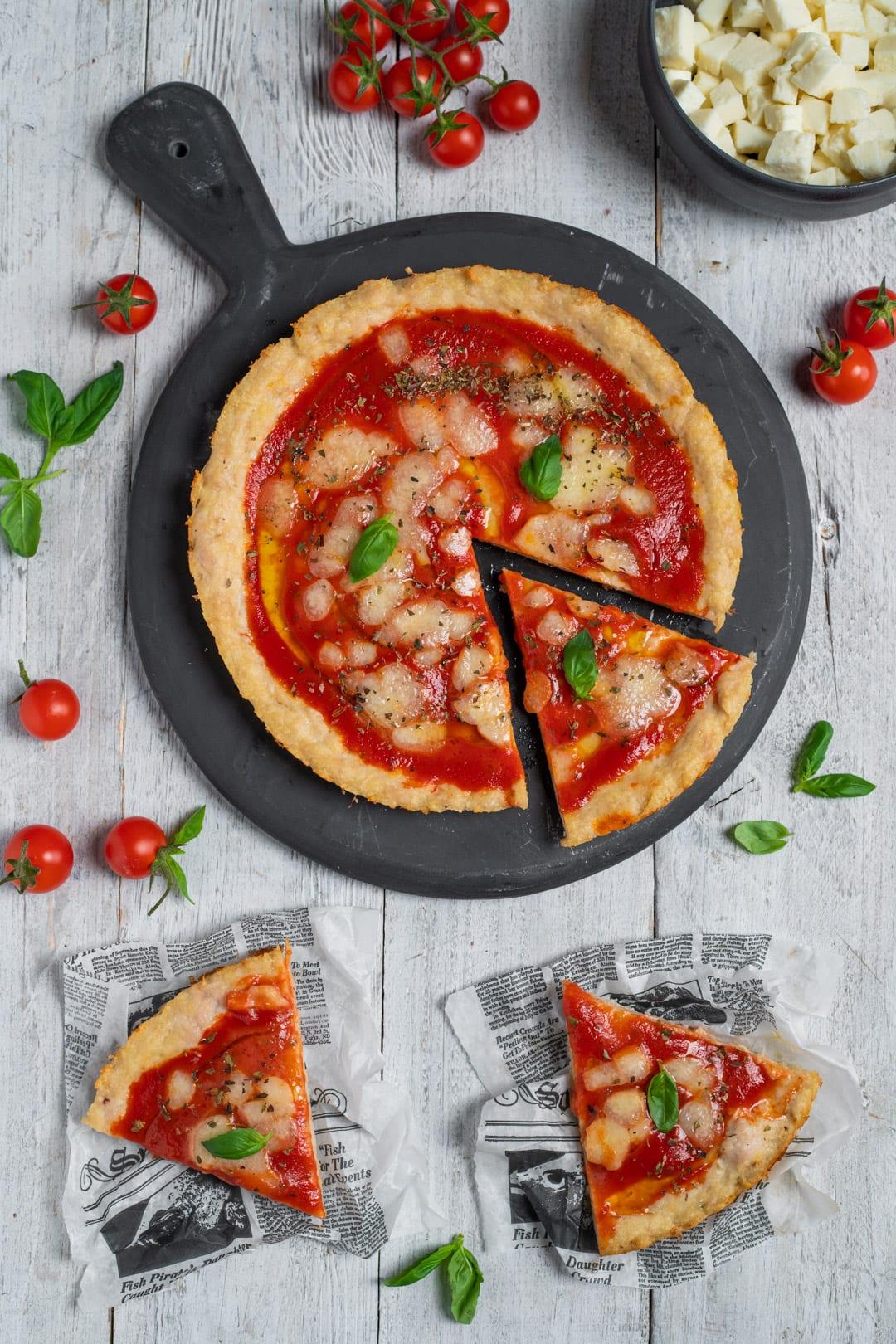 Pizza di tacchino