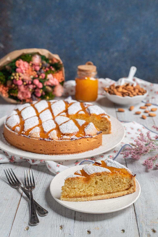 torta cremona con fetta