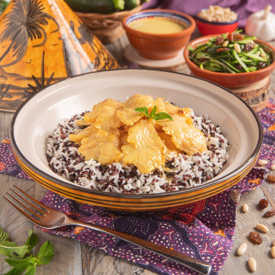 Curry di cernia